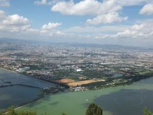 Blick über Kunming